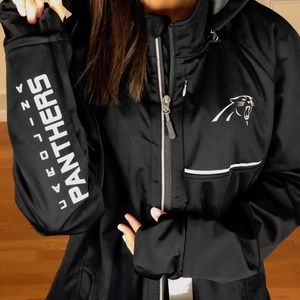 NFL Carolina Panthers FZ Soft Shell Jacket 2XL